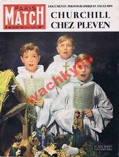 Paris Match n°145  29/12/1951 chanteurs croix de bois Perret Chag Churchill Dior