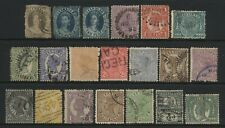 Australian States Queensland Collection 20 Stamps Used