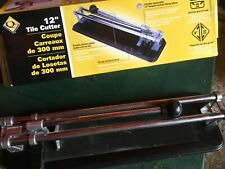 "12"" tile cutter Double Chrome Plated Handle"