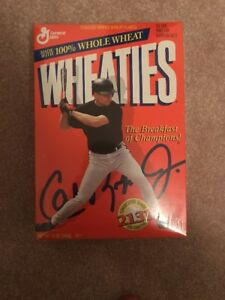 Cal Ripken Jr.2131 Collectors Edition Wheaties Factory Sealed Cereal Box