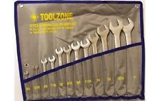 "12 PC Chrome Vanadium A/F AF COMBINATION SPANNER Wrench TOOL SET 1/4"" - 1"""