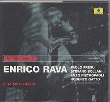 ENRICO RAVA CD  PLAY MILES DAVIS  LABEL BLEU