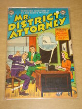 MR DISTRICT ATTORNEY #34 VG (4.0) DC COMICS JULY 1953 **