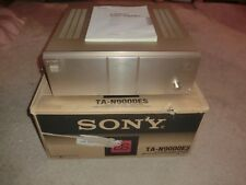 Sony ta-n9000es High-End Amplificatore con OVP, Top ben tenuto, 2 ANNI GARANZIA