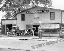 Photograph Vintage Ford Dealer in Hyattsville Maryland Year 1921c  8x10