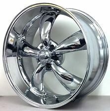 "4 REV CLASSIC 100 TORQ STYLE 18"" 20"" CHROME WHEELS 68 69 70 71 72 CHEVY PICKUP"