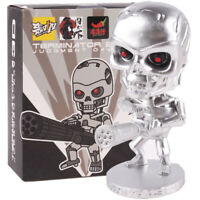 Terminator 2 Judgment Day 3D Endoskeleton Bobble Head PVC Figure Model Toy