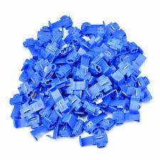 100 PCS Blue Electrical Cable Connectors Quick Splice Lock Wire Terminals Crimp
