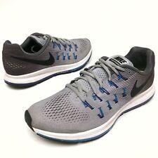 @ Nike Air Zoom Pegasus 33 Mens Sz 10 Eu44 Athletic Shoes 831352-004 Gray EUC