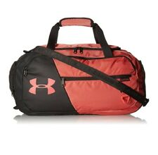 Under Armour Undeniable 4.0 Small Duffle , Watermelon/Jet Gray, Gym Bag, 008