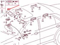 MERCEDES-BENZ S W220 Destro Lato Parasole A22081020107G16 Nuovo Originale