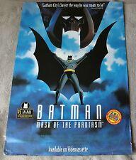 Batman Mask of the Phantasm 1993 Conroy Hamill Animated Cartoon PROMO Poster VG