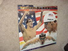 Michael Phelps Official Limited Ed WALL CALENDAR - 2009