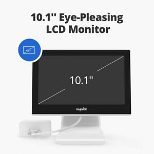 """SANNCE 4CH 5IN1 10.1""""LCD Screen Monitor Digital Video Recorder Remote Security"""