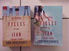 lot Anne BRASHARES Quatre filles et un jean intégrale 1 + intégrale 2 (5 romans
