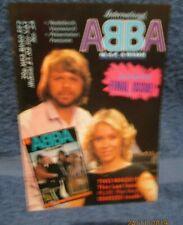 ABBA OFFICIAL INTERNATIONAL  MAGAZINE No 24 RARE FREE P+P