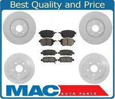 Front and Rear Disc Brake Rotors and Brake Pads for Nissan Maxima 2004-2008