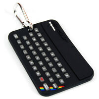 Sinclair ZX Spectrum Luggage Tag. Suitcase Holiday Baggage Clip Travel Cool Gift