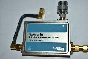 ^^ TEKTRONIX DIPLEXER EXTERNAL MIXER P/N 015-0385-00 (GA5)