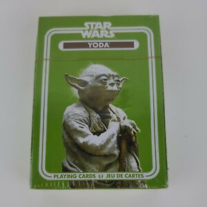 "Star Wars ""Yoda"" Playing Cards Sealed New"