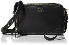 VINCE CAMUTO Small BRENA BLACK ~ ALL IN ( 1 ) Leather Cross-Body Bag NWT $138.00