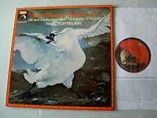 SAINT-SAENS Sonata No. 1 for cello and piano etc Tortelier De La Pau vinyl LP