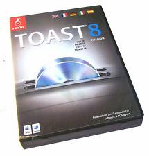 Genuine Roxio Toast 8 Titanium For Mac   Boxed