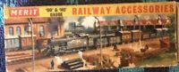 Merit Railway Accessories OO/HO #5084 Girders Vintage 12 Plastic Train Layout Ne