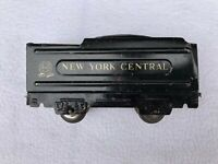 Vintage Marx New York Central  Black Tin Coal Tender
