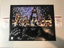 Villanova 2016 National Champs Team 10 Autograph Signed 16x20 Photo Jenkins JSA