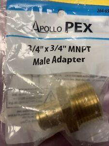 """Apollo Pex 3/4""""x3/4""""MNPT  Male Adapter"""