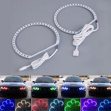 4pcs E36 E38 E39 E46 RGB 4*131MM Multi-Color 5050 Flash LED ANGEL EYES kit BB
