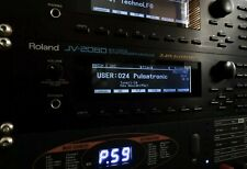 Roland JV-2080 Custom LUX (Negative) LED Display !