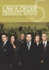 LAW & ORDER: CRIMINAL INTENT - THE FIFTH YEAR NEW DVD