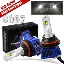 2pcs 160W 16000LM 9007 HB5 LED High Low Beam Headlight Bulbs Kit HID 6000K Light