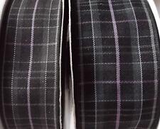 Pride of Scotland PLATINUM tartan ribbon various widths + ODDMENTS