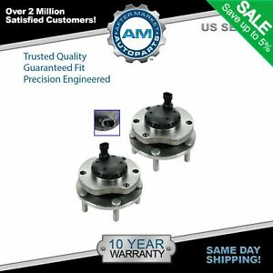 2 Front Wheel Bearing Hub Assembly Fits 2004-2006 Pontiac GTO w/ ABS Pair