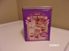 Collectible 1996 Kenner Easy Bake First Edition Tin