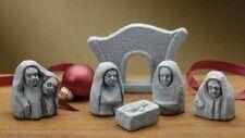 Nativity Set Celtic Figures Ireland St. Patricks Day 6 piece set in a gift box
