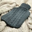 Warmer Soft Cover Only Heat Large Hot Water Bottle Cover Knitted Reusable