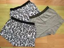 3 Pack Press Stud Boys Age 7-8 All in one Underwear-boxers Autism Special Needs