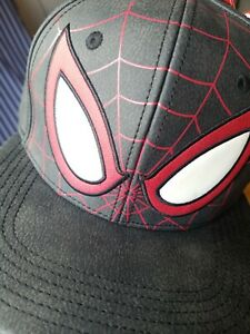 Marvel Spider-man miles Snapback Cap Hat Bioworld