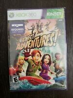 NEW Factory Sealed Kinect Adventures! Game Xbox 360 Kinect FAST SHIPPING!