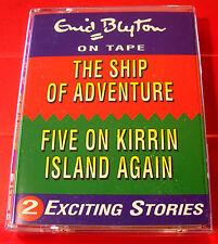Enid Blyton Ship Of Adventure/Famous Five On Kirrin Island Again 2-Tape Audio