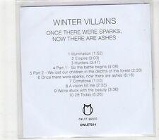 (GT136) Winter Villains, Once There Were Sparks Now There Are Ashes - 2015 DJ CD