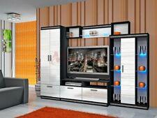 Parete attrezzata moderna mobile soggiorno stile Versace modello City 6011