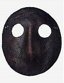 Venezianische Masken Moretta Ledermaske - In Venedig Handgemacht!