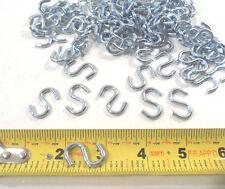 """50 PC. 1"""" INCH S HOOK STEEL  S-HOOKS"""