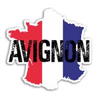 2 x 10cm Avignon Vinyl Stickers - France Travel Sticker Laptop Luggage #18208