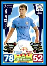 Match Attax 2017-2018 John Stones Manchester City No. 187